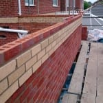 Detailed brickwork to match the existing brickwork